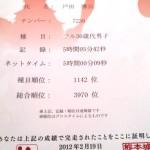 熊本城マラソン2012!